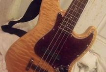 Axe Wives' Club - Thelma / Pictures of my old Mighty Mite jazz bass that I once owned by the name of Thelma.