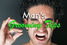 Grooming for Men / Easy to follow grooming tips and skin care guides for men.