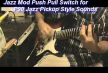 Axe Wives' Club - Holly / Pictures and video demo of my modded sunburst Squier bullet strat, which I nicknamed Holly as a reference to Buddy Holly.  The codename for this project was The Rachero project.