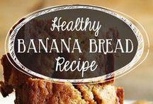 Healthy Banana Recipes / All healthy banana recipes in one board.