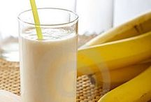 Banana Drinks / All the drinks you can make with bananas.