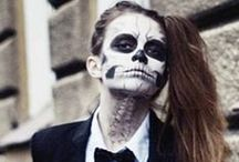 Spooky style / Hauntingly good make-up ideas and outfit inspiration for Halloween.