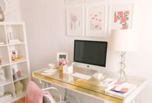 Office Inspo / Some inspiration and a whole lotta lusting over our home office -xo
