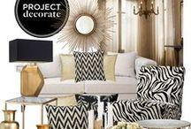 Gold-silver decor