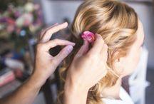 Wedding Hair & makeup / A frizurák mindegyikét, a sminkek nagy részét magam készítettem. A tapasztalataimat a legjobb hazai körökben, valamint televíziós műsorok, magazin fotózások, divatbemutatók alkalmával teszteltem ;)