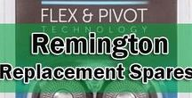 Remington Replacement Spares / Shaver Foils Remington One of the stand out product lines are their Remington titanium screens, which are made using the finest of materials for that extra close cut and using the latest machine tooled block technology as opposed to the rotary blade design.