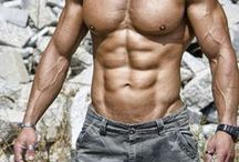 Work it out! / Men who love to work out to achieve a great shape looking body.