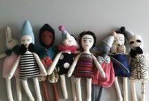 artsy dolls