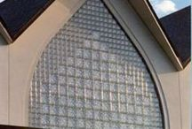 Glass Block in Architecture / Eastern Glass Block provides glass blocks and glass block products that are both architecturally sound and aesthetically pleasing.