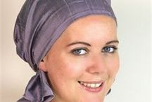 Headscarfs for hairloss / The headwear range takes into consideration the use of headwear for fashion and the additional requirements for those coping with hair loss (i.e. secure comfortable fit, natural breathable fabrics, complete coverage, no scratchy bits etc.) all whilst maintaining great style. I create headwear in a modular way that enables customers to change it up and add their own personal style. I have some of my original designs as well as new styles.