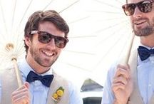 Groom Style / Fashion ideas for Groom's on their big day!