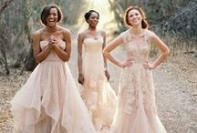 Bridesmaid style / Fashion and style ideas for your bridesmaids