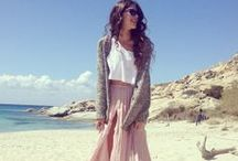 Beach Style Diary / Fantasy beach fashion wardrobe