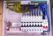 Changing a fusebox / Previous installation pictures from when we have installed replacement RCBO consumer units