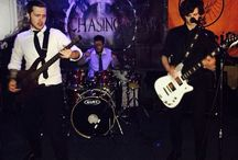 The_Rogues_Uk/Glass Canvas / My son's band
