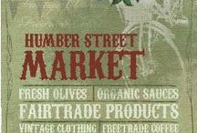 Hull & Fruit Markets / Hull, Kingston Upon Hull, England - reclaiming the old Fruit Market Precinct, Humber St, where Tadman Bros and J S Tadman Fruit Merchants traded.
