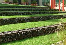 Slope garden / Steep garden ideas
