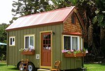 Tiny House / Tiny houses inside and out.