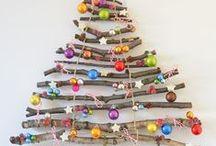 Alternatieve Kerstboom / #Inspiratie #Decoratie #Styling #DIY #Alternatieve #Kerstboom #Kerstmis