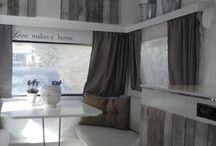 Gepimpte Caravan / #Inspiratie #Decoratie #DIY #Design #Caravan