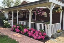 Porch / I want to build a porch in my back yard and I'd love to have some inspiration. Please add your ideas and lovely  porchepins. Thanks, Christa Like to add? Please leave a message at a recent pin