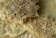 Lace, ribbons, fabric, ...