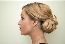 Prom hairstyles / Hairstyles fit for prom, graduation and that really important party.