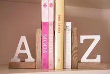 Inspírate: letras en decoración / by Wisteria Decoración Tenerife