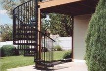 Salter Spiral Stair Installs / Enjoy customer testimonials of Salter Spiral Stairs!