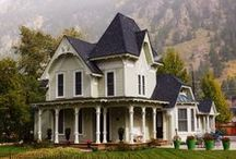 Historic residences / Georgetown, Colorado has been described as a ghost town, but it has a lively population!