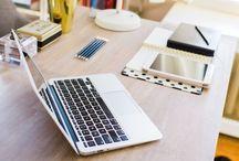 Inspírate: zona de estudio/trabajo en casa / by Wisteria Decoración Tenerife