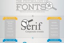 Fontes / Inspiração de tipografia