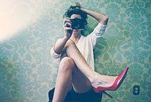 Self-portrait / Inspiración Autorretratos y Retratos