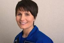 #AlumOnOrbit - Samantha Cristoforetti / Space Camp Alumna and Hall of Fame member, Samantha Cristoforetti, launched into space as a part of Expedition 42 on November 23, 2014. As a current captain in the Italian Air Force, Samantha was selected for astronaut training with the European Space Agency in 2009. She attended Space Camp in 1995 and was later inducted into the Space Camp Hall of Fame in 2014. We are proud of Samantha and her achievements! Follow her on Twitter @AstroSamantha.