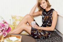 Casas de Famosos: Karlie Kloss / La top model del momento, Karlie Kloss, abre las puertas de su apartamento en NY. / by Wisteria Decoración Tenerife