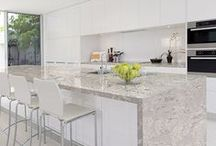 Contemporary Kitchens / Sleek, clean, innovative