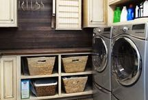 Laundry Rooms / Why not make it fun and fast to do laundry by making your laundry room beautiful and efficient?