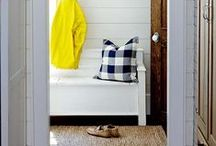 Mudrooms / MUD!  Keep it out of the rest of the house.