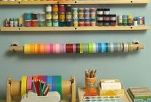 Inspírate: estudio craft en casa / Un lugar para todos esos amantes de los proyectos craft / by Wisteria Decoración Tenerife
