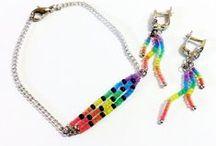 Rainbow / Радужные штучки ручной работы
