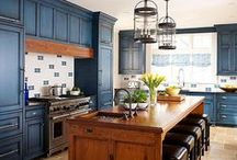 Colorful Kitchens / Make your kitchen your own.