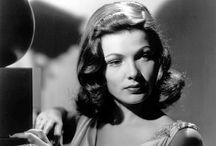 Gene Tierney / My favourite movies of her are : The ghost and Mrs Muir, Dragonwyck, Whirpool, Laura and Heaven can wait