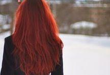Les cheveux.włosy. hairs / Long.henna.diy