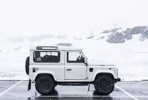 ADVENTUREMOBILE / a good car gets you there + off the beaten track  / by Up Knörth