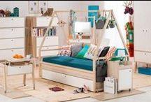 Pokoje dla nastolatków / Teenagers' rooms / Inspirujące, kolorowe, funkcjonalne pokoje dla nastolatków. Centrum życia i nauki dla dziewczyn i chłopaków.