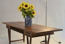COFFEE TABLES /  Vintage coffee tables & small tables, dressing tables. #hans wegner #ew bach #coffee tables