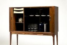 COCKTAIL CABINETS /  Vintage cocktail cabinets. #wikkelsø #cocktail cabinets / by VAMPT VINTAGE DESIGN