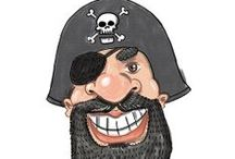 Park Pirates / Images of the Park University Pirate aka Sir George