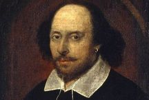 The Bard / Shakespeare's characters, quotes and inspirations conveying Shakespearean atmosphere