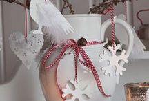 Vánoce - vykrajované ozdoby